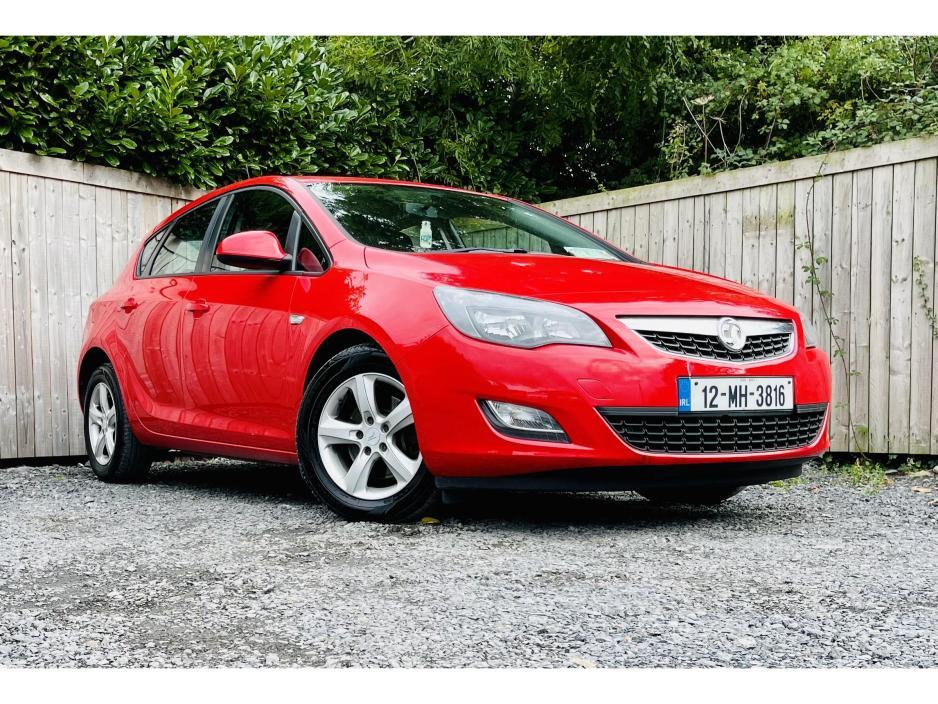 Used Vauxhall Astra 2012 in Meath