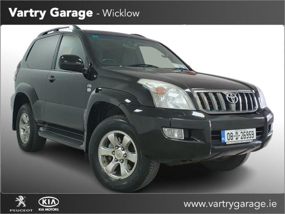 Used Toyota Landcruiser 2008 in Wicklow