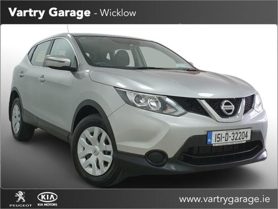 Used Nissan Qashqai 2015 in Wicklow