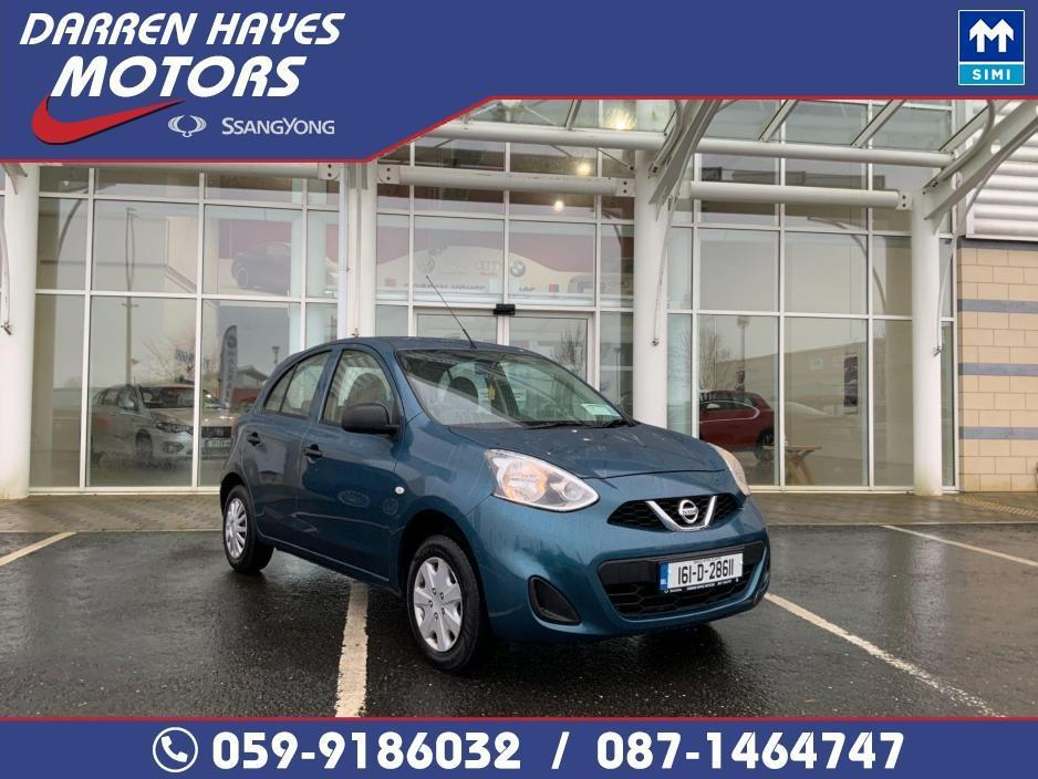 Used Nissan Micra 2016 in Carlow