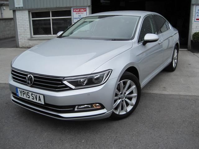 2015 volkswagen passat 1 6 tdi se business 120ps price 16 500 1 6 diesel for sale in galway. Black Bedroom Furniture Sets. Home Design Ideas